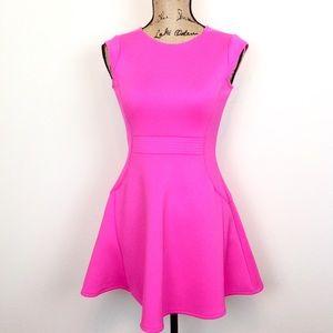 Ted Baker Hot Pink Skater Dress
